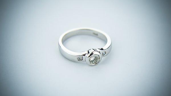 pierścionki srebrne